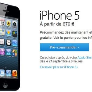 #iPhone5 - Les pré-commandes sont ouvertes
