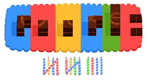 Google fête son 14ème anniversaire avec... un Doodle