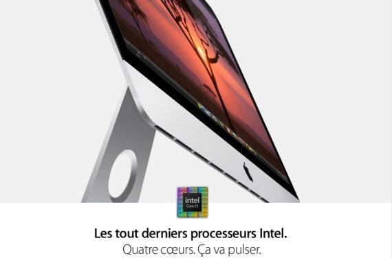 Processeur nouvel iMac