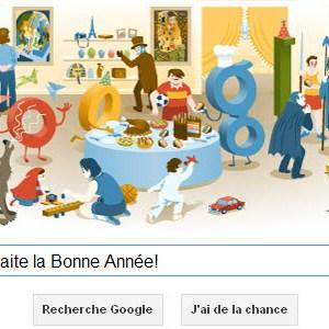 Google vous souhaite une Bonne Année 2013! [Doodle]