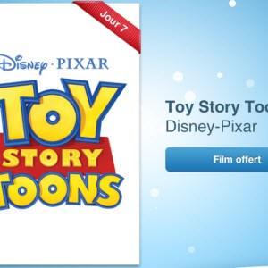 12 jours cadeaux iTunes 2012 – Jour 7 : le film Toy Story Toons