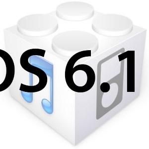 L'iOS 6.1.2 est disponible en téléchargement