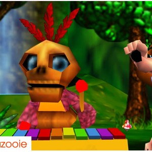 Retro Gaming Banjo Kazooie