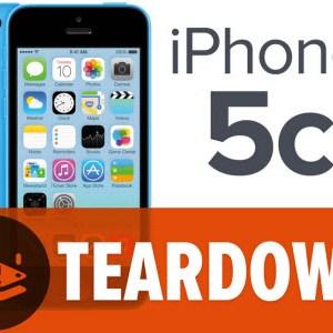 L'iPhone 5C à son tour mis en pièces par iFixit!