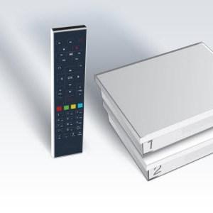 Free brade son forfait Freebox Design Crystal + option TV à 1,99€ sur Vente-privée.com