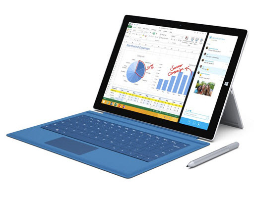 La Surface 3 face à la concurrence [infographie]