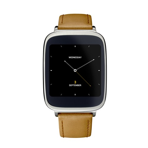 #IFA2014 - Asus lève le voile sur  sa première montre connectée, la ZenWatch