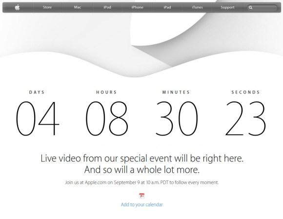 #iPhone6 - Apple retransmettra sa Keynote en direct le 9 septembre prochain à 19h