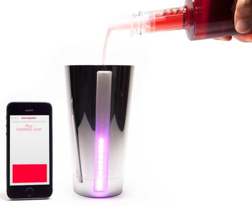 B4RM4N, le shaker connecté qui va faire de vous un as du cocktail!