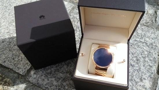 Prise en main de la montre Huawei Watch
