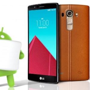 LG : bientôt la mise à jour Android 6.0 Marshmallow sur le LG G4