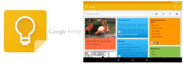 L'application Android Google Keep accepte désormais les dessins