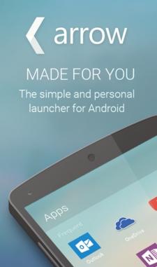 Arrow : Microsoft propose un launcher Android
