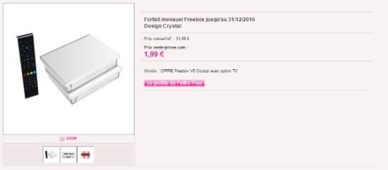 #Free propose une nouvelle offre Freebox sur vente-privee.com !