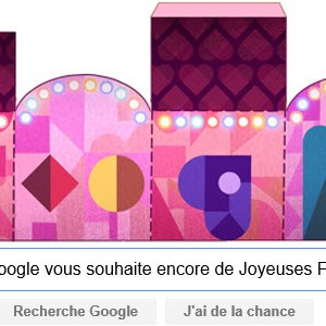 Google vous souhaite encore de Joyeuses Fêtes [#Doodle] C'est la saison !