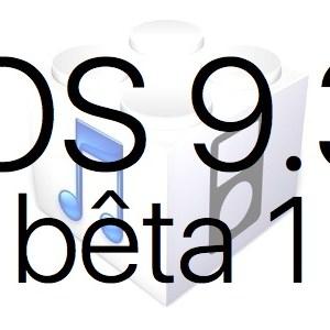 L'iOS 9.3 bêta 1 est disponible pour les développeurs