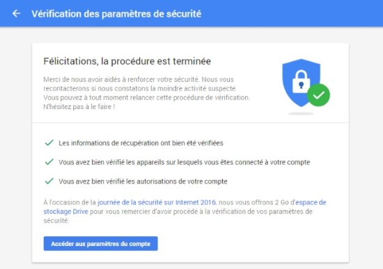 Google Drive : 2Go à vie, ça vous dit ?