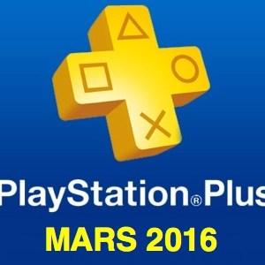 Playstation Plus : les jeux offerts du mois de mars 2016