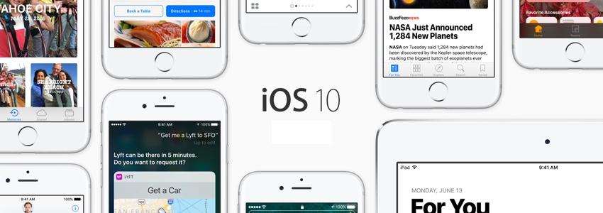 #iOS10 : la liste des iPhone, iPad et iPod Touch compatibles