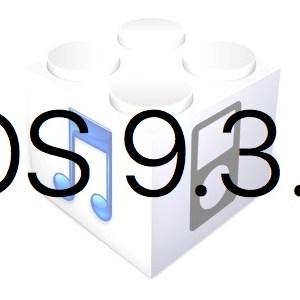 L'iOS 9.3.3 est disponible au téléchargement [liens directs]