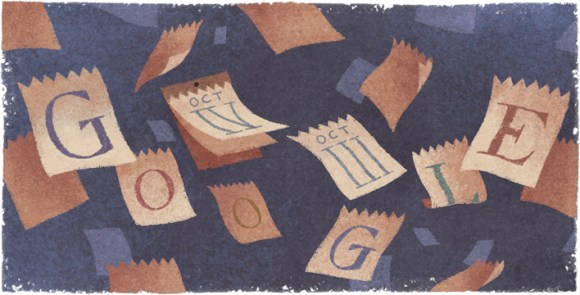 Google fête le 434ème anniversaire de l'introduction du Calendrier Grégorien [#Doodle]