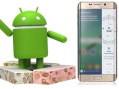 Samsung débute le développement d'Android 7.0 Nougat pour les Galaxy S6 et Galaxy S6 Edge