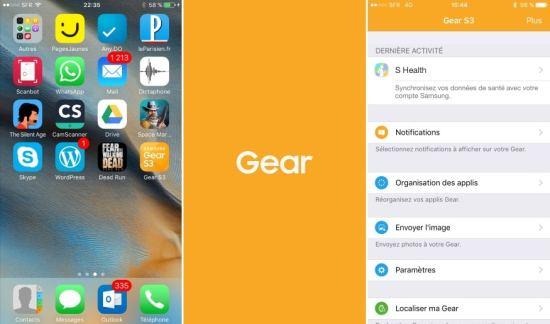 Gear S2 / Gear S3 : une version Gear Manager pour iOS vient de fuiter sur le web