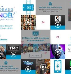 Bouygues Telecom : les 24 et 25 décembre seront en Internet illimité