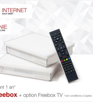 #Free casse le prix de son forfait Freebox Crystal à 1,99€/mois sur vente-privee.com