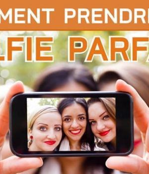 Comment prendre un selfie parfait ? [Infographie]