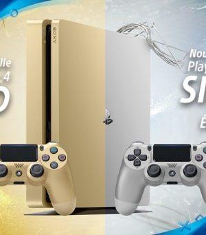 Sony Playstation : les PS4 Editions limitées Gold et Silver débarquent en France le 28 juin