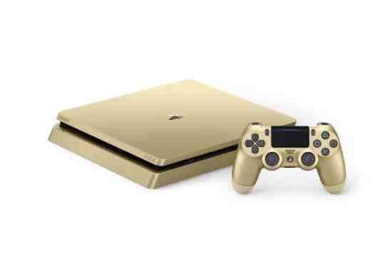 Sony dévoile les PS4 Editions limitées Gold et Silver