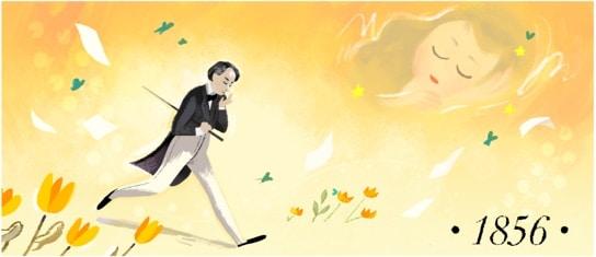 Google rend hommage à Victor Hugo en #Doodle