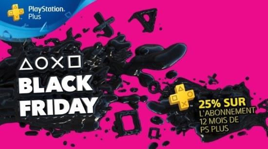 #BlackFriday : Sony lance ses offres en avant-première pour ses abonnés PS Plus