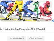 Google fête le début des Jeux Paralympiques 2018 [#Doodle]