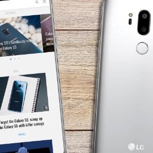 LG G7 : des visuels et des caractéristiques circulent sur le web