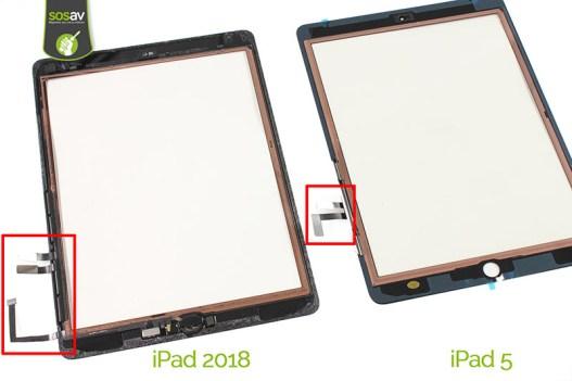L'iPad 6 s'est fait démonter par @SOSav_fr