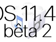 L'iOS 11.4.1 bêta 2 est disponible pour les développeurs