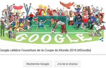Doodle Coupe du Monde 2018 - Jour 1
