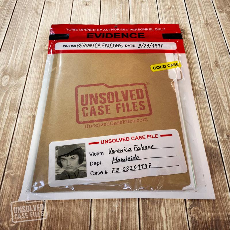 Veronica Falcone - Unsolved Case File No: F08-08261947