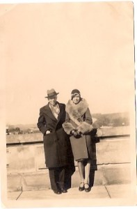 Harry Arand and Betty Wilhelmi circa 1928