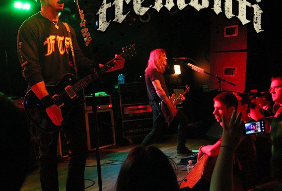 All I was. A concert review of Tremonti in Chicago!!