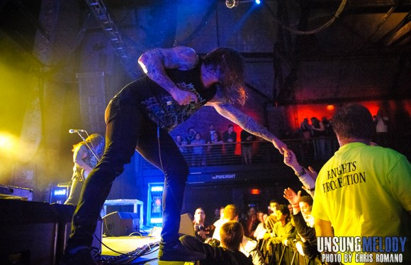 As I Lay Dying featuring The Devil Wears Prada and The Chariot at The Paramount in Huntington, NY.