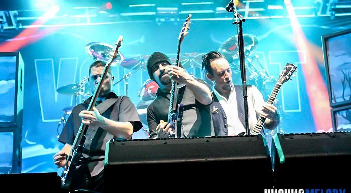 LET'S GET READY TO RUMBLE! Volbeat, Danko Jones and Spoken at Aragon Ballroom in Chicago.