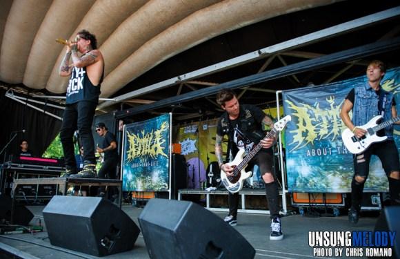 Atilla at the Vans Warped Tour in Holmdel, NJ
