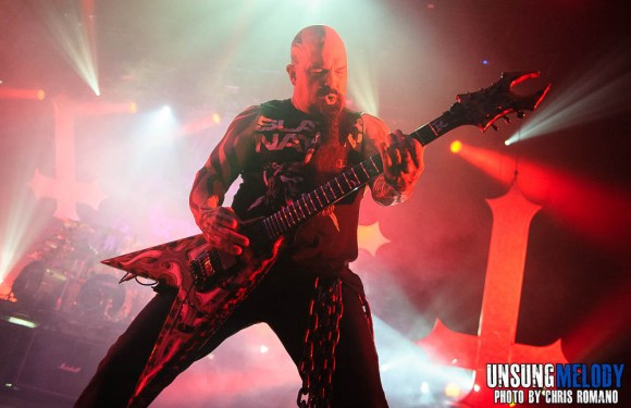 Slayer at Madison Square Garden in New York City