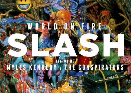 Slash featuring Myles Kennedy and the Conspirators to Release New Album