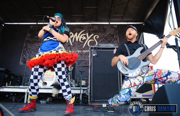 Vans Warped Tour 2014: Beebs and Her Money Makers at the Vans Warped Tour in Jones Beach, NY