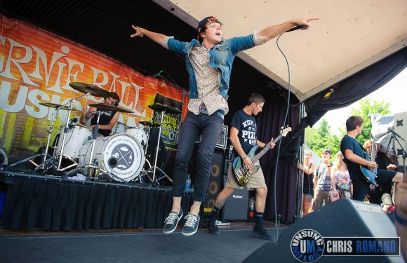 Vans Warped Tour 2014: Chunk, No Captain Chunk at the Vans Warped Tour in Camden, NJ