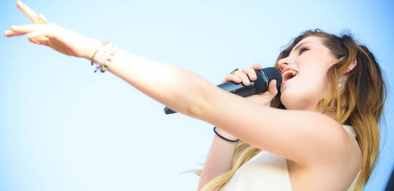 Vans Warped Tour 2014: Echosmith at the Vans Warped Tour in Jones Beach, NY